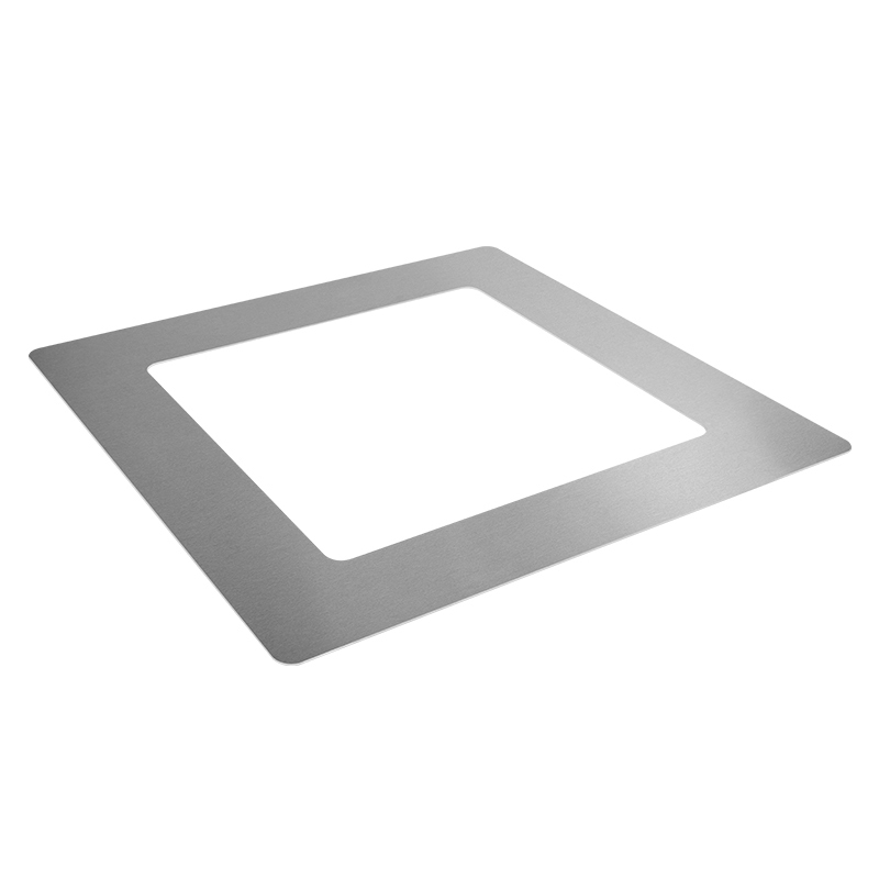 Machined aluminum plate
